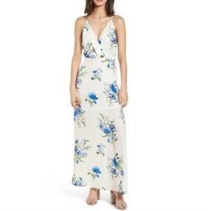 Lush floral print maxi dress Nwot , size XS
